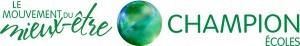 Logo Champion Mouvement du mieux-être_École-m