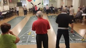Seniors in Tracadie have access to indoor facilities to be active and socialize all year round