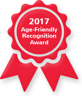 2017 Age-Friendly Recognition Award Recipients